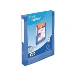 Dossierbox KC A4 40mm PP tr.blauw/pk 5