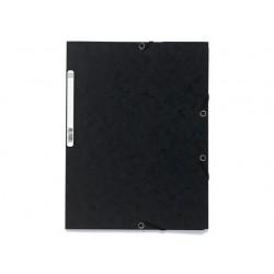 Elastomap Exacompta 3-fl 400g zwart/pk25