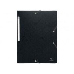 Elastomap Exacompta 3-fl 600g zwart/pk25