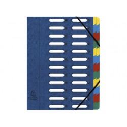 Sorteermap elasto NF venster 24-vaks bl