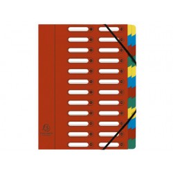 Sorteermap elasto NF venster 24-vaks rd