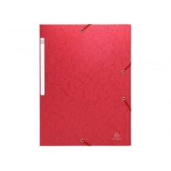 Elastomap Exacompta 3-fl 600g rood/pk25