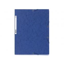 Elastomap Exacompta 3-fl 400g blauw/pk25