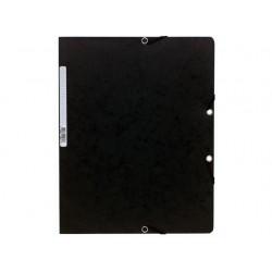 Elastomap Exacompta A4 400g zwart/pk25