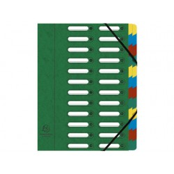 Sorteermap elasto NF venst 24-vk ass/pk4