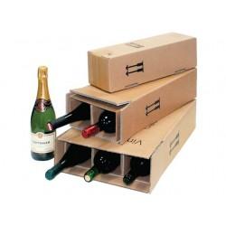 Verzenddoos voor 1 fles wijn PR br /pk10
