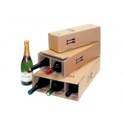 Verzenddoos voor 2 fles wijn PR br /pk10