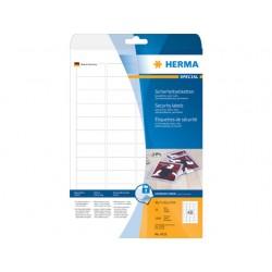 Veiligheidsetiket LC 46x21/pk1200