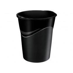 Prullenbak CEP kunststof rond 14l zwart