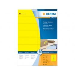 Etiket ILC 105x37 geel/pak 1600