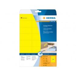 Etiket ILC 70x37 geel/pak 480