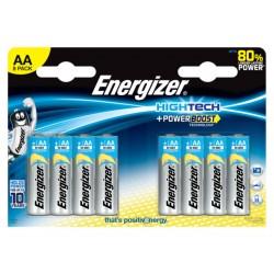 Batterij Energizer Hightech AA/Pak 8