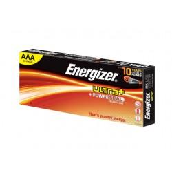 Batterij Energizer Ultra+ AAA/Pak 10
