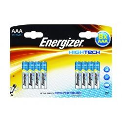 Batterij Energizer Hightech AAA/Pk 8