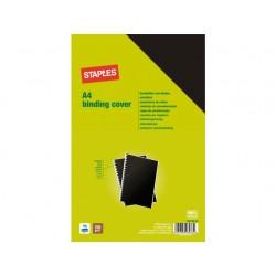 Schutblad SPLS A4 gladkarton zwart/pk100