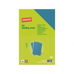 Schutblad SPLS A4 gladkarton blauw/pk100