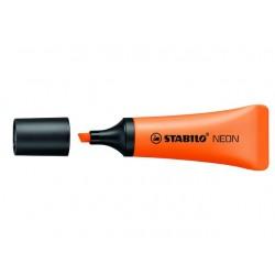 Tekstmarker Stabilo NEON 2-5 oranje/pk10