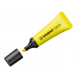 Tekstmarker Stabilo NEON 2-5 geel/pak10