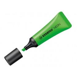 Tekstmarker Stabilo NEON 2-5 groen/pak10