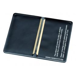 Beschermhoes Double PVC 190x105x2 zwart