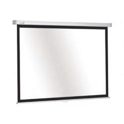 Projectiescherm Premium handbed. 102x180