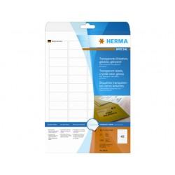 Etiket Herma LC 45,7x21,2 transp/pk 1200