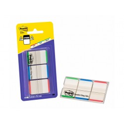 Index Post-It Strong Standaard bl/gr/ro