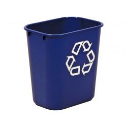 Afvalbak Recycle 12,9L blauw
