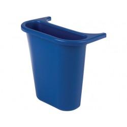 Afvalbak zijbak 4,5L blauw