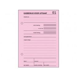 Kasbewijs Sigel A6 uitgaaf 100 bl/wr5