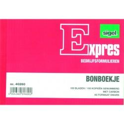 Bonboekje Sigel A6 2x100 bl/wr 5