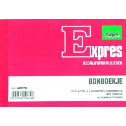 Bonboekje Sigel A6 3x50 bl/wr 5