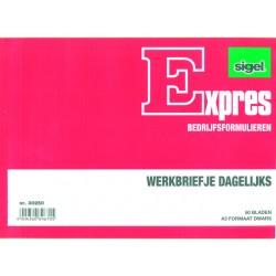 Bonboekje Sigel A6 2x50 bl/wr 5