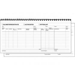 Km registratie/autokosten zelfkop./wr2