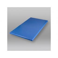 Snijplank 500x300x20mm zonder geul blauw