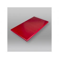 Snijplank 500x300x20mm zonder geul rood