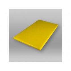 Snijplank 500x300x20mm zonder geul geel