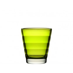 Glas 250ml Wave appelgroen /ds6