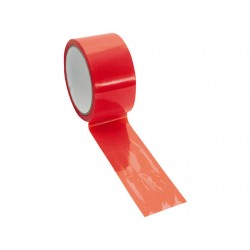 Veiligheidstape 50x50m pp oranje /1rl