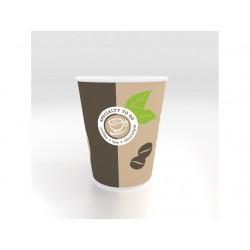 Beker cup to go karton 200 beige/ds1600