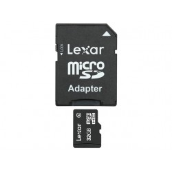 Geheugenkaart Lexar 32GB micrSDHC+A/Cl10