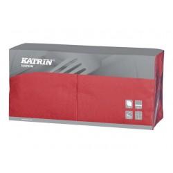 Servet Katrin 33cm 3lgs rood/ds4x250