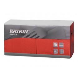 Servet Katrin 25cm 3lgs rood/ds4x250