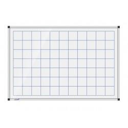 Whiteboard raster 90x120 cm