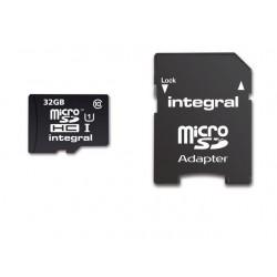 Geheugenkaart Integral MicroSDHC+Ad 32GB