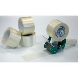 Filamenttape rol 75mmx50m tr/pk6
