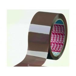 Verpakkingstape PP 50mmx66m bruin/pk 6