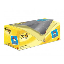 Notitieblok Post-It 76x76 kan.geel/pk 20