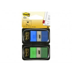 Index Post-It 50 tabs groen-blauw/pak 2