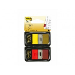 Index Post-It 50 tabs rood-geel/pak 2